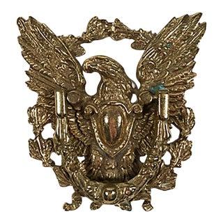 Brass Eagle Door Knocker For Sale