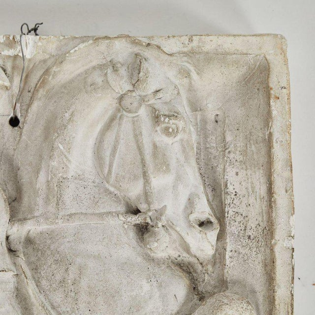 Carved Plaster Architectural Relief For Sale - Image 4 of 6