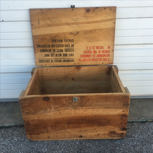 Wood Storage Box from U.S. Department of Commerce - Image 6 of 10