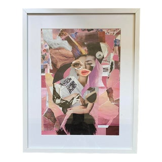"Original ""A Glamorous Wreck"" Collage by Lee Ten Hoeve For Sale"