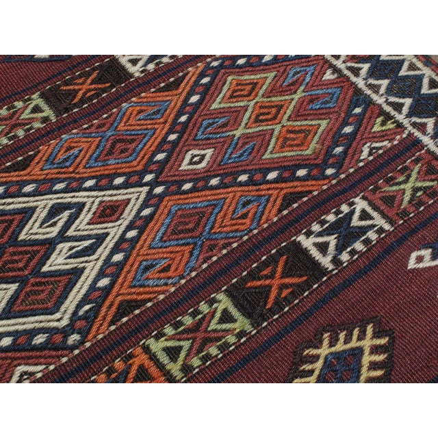 Islamic Kagizman Kilim Runner For Sale - Image 3 of 9