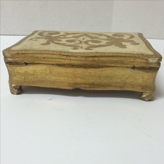 Italian Florentine Keepsake Box - Image 4 of 8