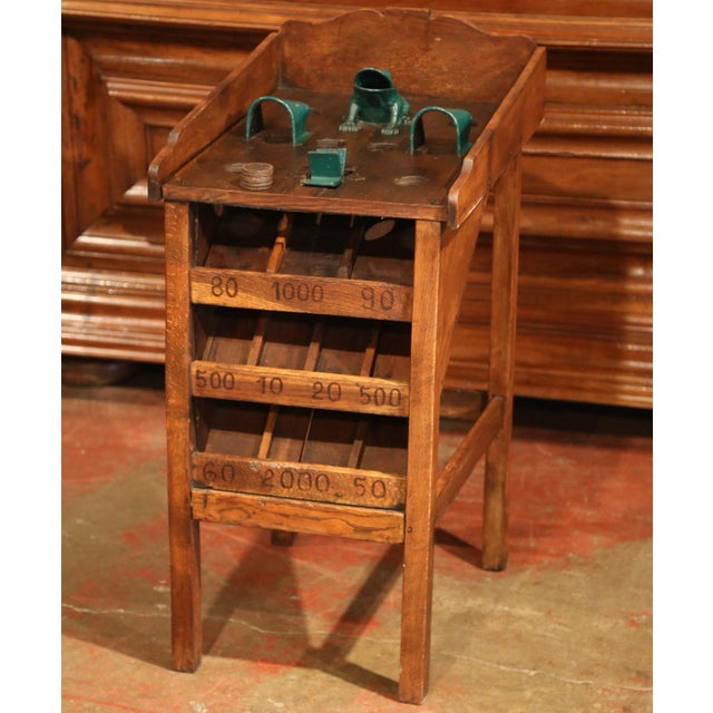 """French Early 20th Century French Bistrot Game """"La Grenouille"""" or Toad in the Hole For Sale - Image 3 of 10"""