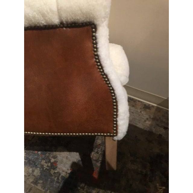Shearling Arm Chair by Lee Industries For Sale - Image 10 of 13