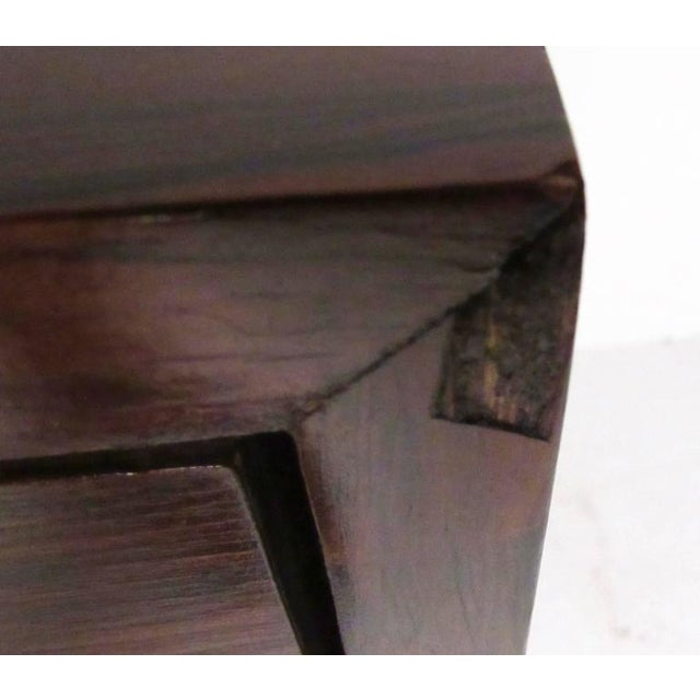 Founders Rosewood Nine-Drawer Dresser For Sale - Image 9 of 11