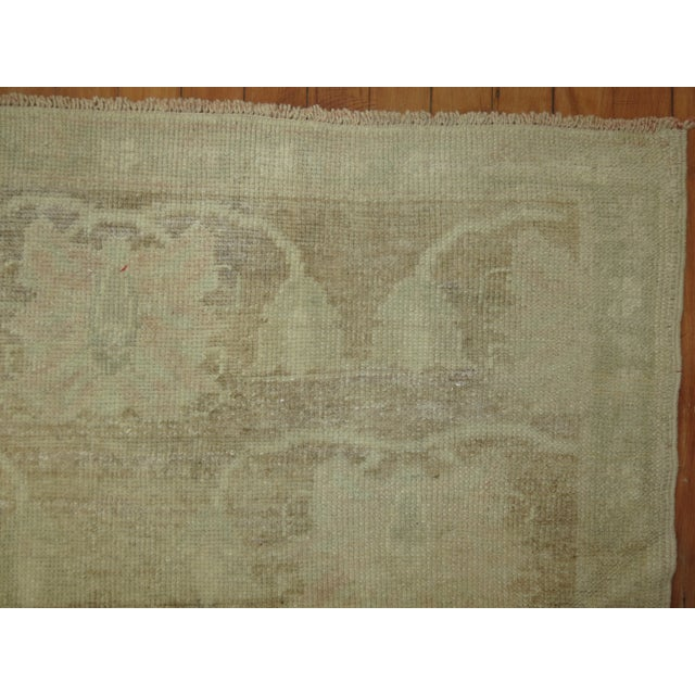 Vintage Turkish Konya Rug, 4'11'' x 8'8'' For Sale - Image 5 of 11
