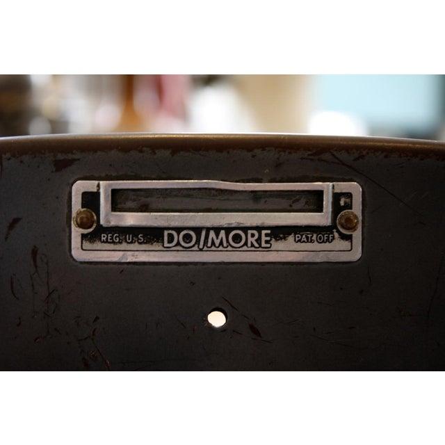 Vintage Brown Task Chair - Image 6 of 7