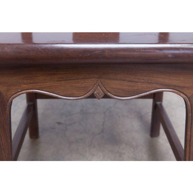 Chinese Yoke Back Officials Hat Chairs - Set of 6 - Image 9 of 10