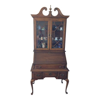"""Governor Winthrop "" Style Secretary Desk For Sale"
