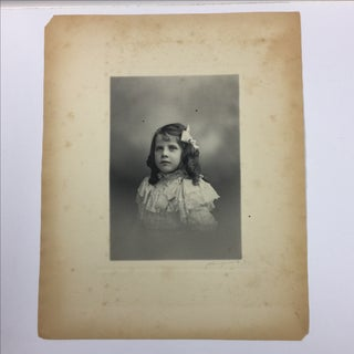 Antique 19th-Century Photograph Portrait of a Girl Preview