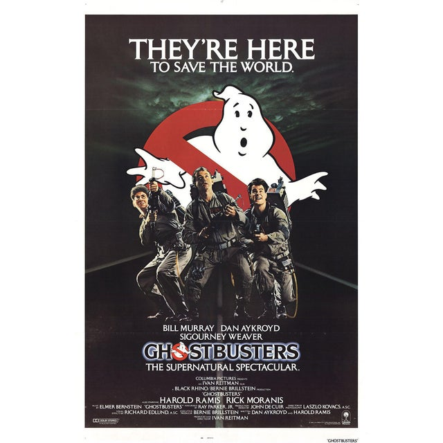 Ghostbusters 1984 Poster For Sale