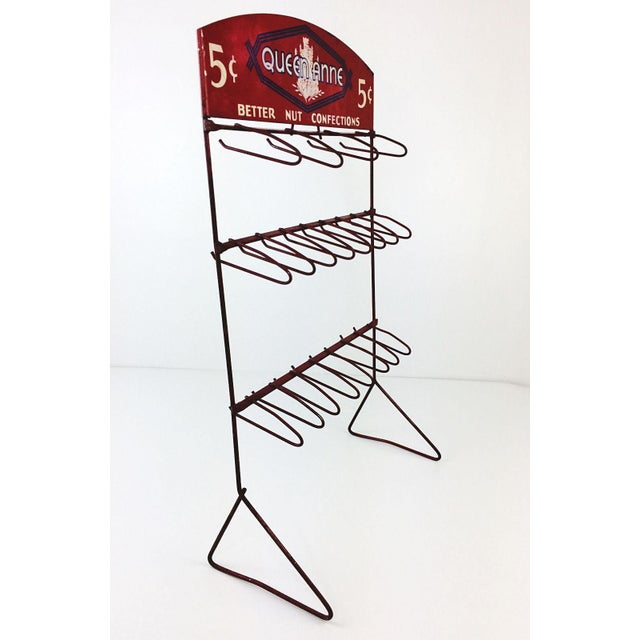 Vintage Queen Anne Better Nut Confections Display Rack - Image 5 of 8