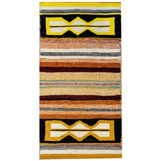 Unusual 20th Century Navajo Rug For Sale