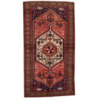"Apadana - Vintage Persian Hamadan Rug, 3'5"" x 6'5"""