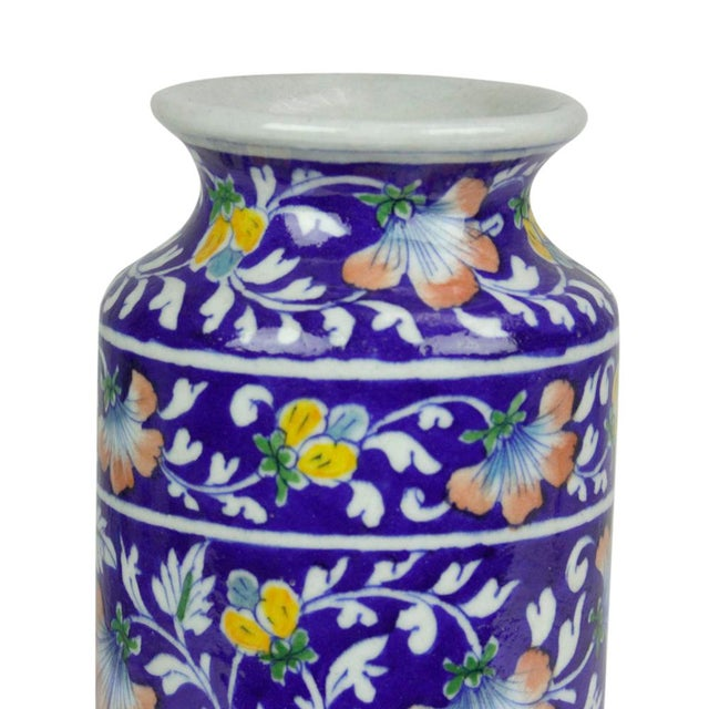 Navy Jaipur Vase - Image 3 of 5