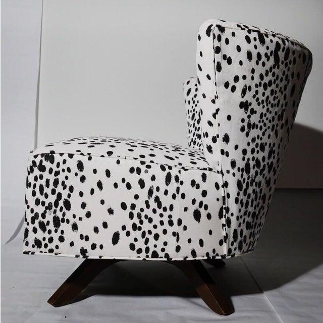 Kroehler Armless Slipper Swivel Chairs - Pair - Image 4 of 5
