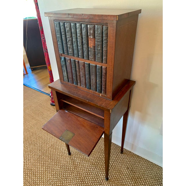 French Wood Phone Cabinet For Sale In Kansas City - Image 6 of 11