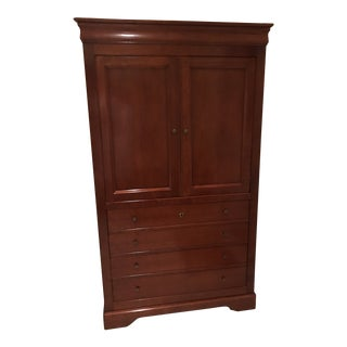 1990s Grange Storage Armoire For Sale