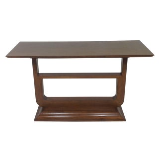 Modern Mid-Century Style Console
