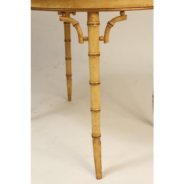 English Regency Style Chinoiserie Decorated Tray Table For Sale - Image 11 of 13