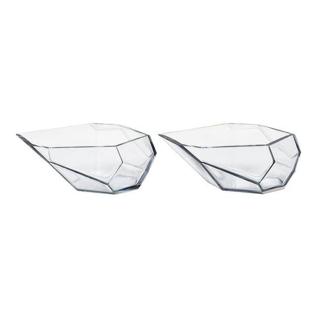 Contemporary A. Donna Geometric Murano Glass Bowls For Sale