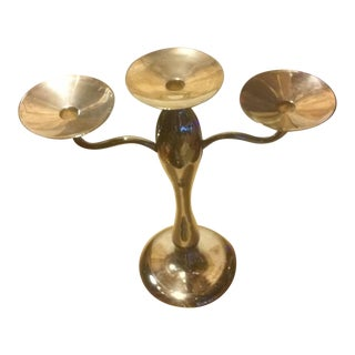 Center Piece Candlestick Holder For Sale