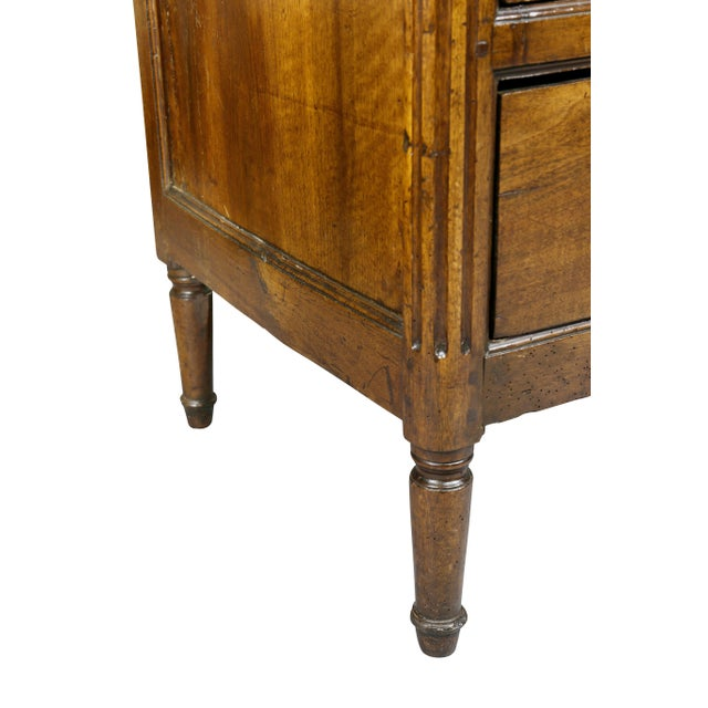 Louis XVI Provincial Walnut Commode For Sale In Boston - Image 6 of 10