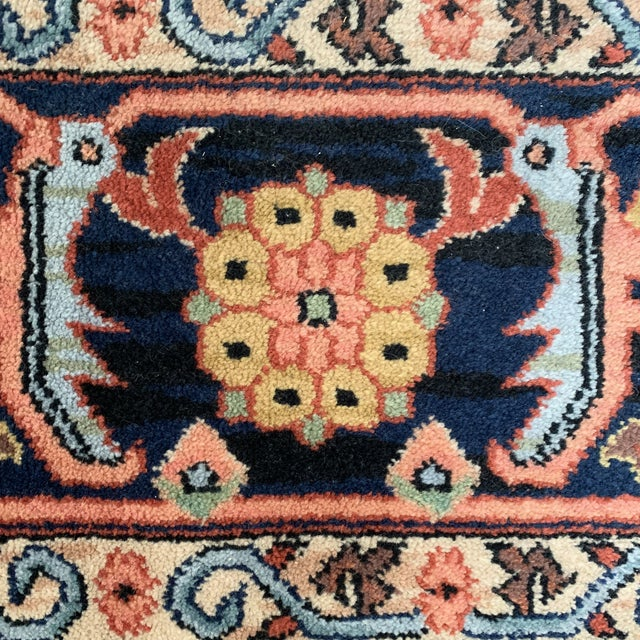 Textile Vintage Serapi #729 Karastan Wool Rug - 8′8″ × 12′ For Sale - Image 7 of 11