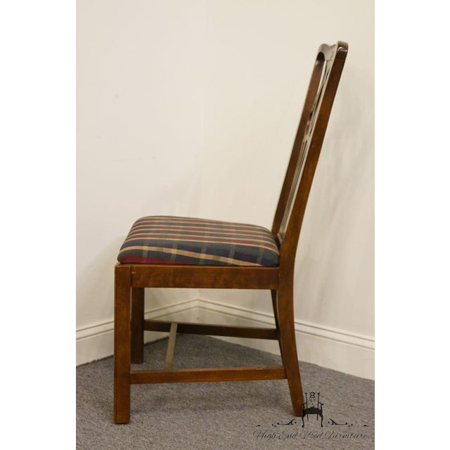 Late 20th Century Drexel Heritage Chippendale Style Dining Chair For Sale In Kansas City - Image 6 of 12