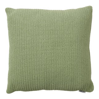 Cane-Line Divine Square Scatter Cushion, Olive Green For Sale