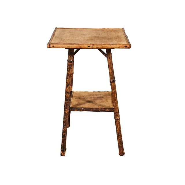 Tiger Bamboo Table For Sale In Los Angeles - Image 6 of 6