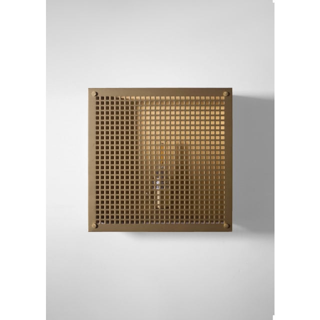 2010s Modern Contemporary 000 Sconce in Brass by Orphan Work For Sale - Image 5 of 7