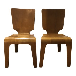 Thaden Jordan Molded Chairs - a Pair For Sale