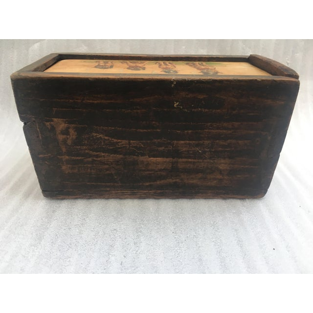 Antique Wooden Mystery Box For Sale - Image 7 of 11
