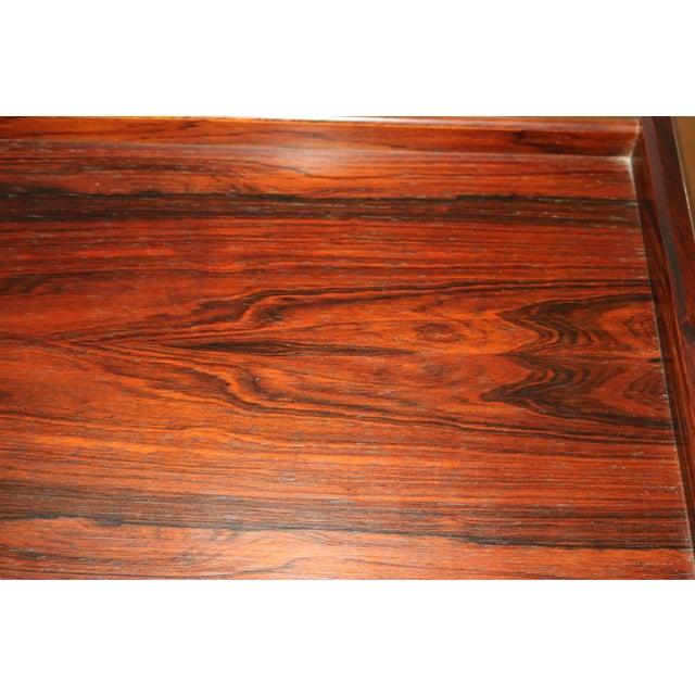 Vintage Arne Wahl Iversen Model 64 Rosewood Vinde Mobelfabrik Desk For Sale - Image 12 of 13