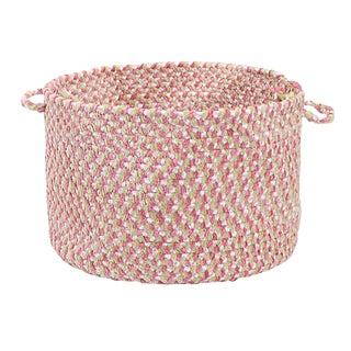 "Blokburst Tea Party Pink 14""x10"" Utility Basket"