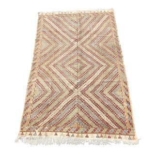 Vintage Turkish Kilim Rug - 6′8″ × 11