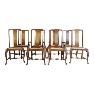 Mid Century Vintage Dining Chairs- Set of 8 For Sale