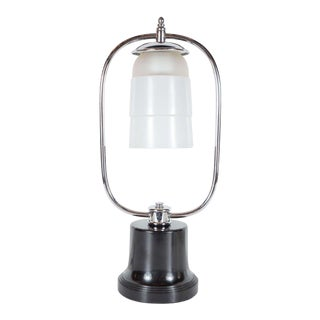 Art Deco Machine Age Table Lamp For Sale