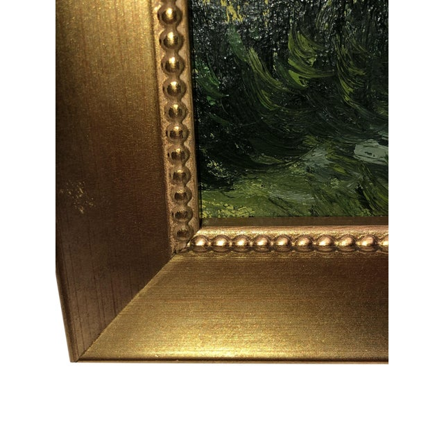 1970s Vintage French Painting Replica of Camille Pissarro For Sale - Image 5 of 7