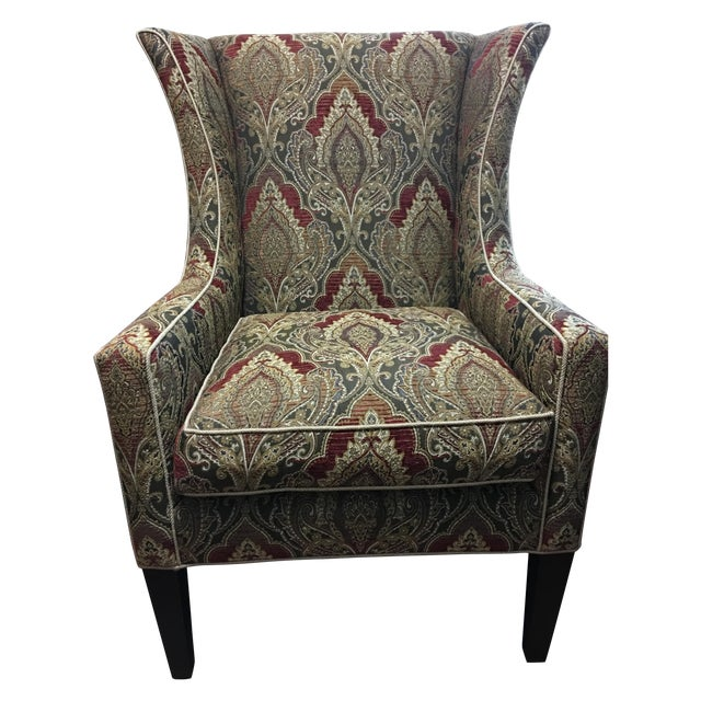 Sherrill Furniture Wing Chair - Image 1 of 5