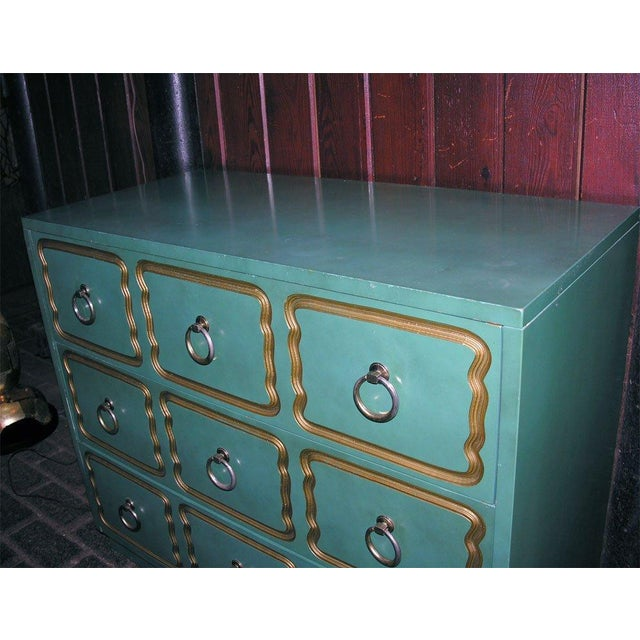 """Wood Classic """"Espana"""" Chests in the Style of Dorothy Draper - A Pair For Sale - Image 7 of 9"""