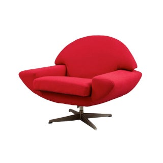 """Capri"" Swivel Lounge by Johannes Andersen For Sale"