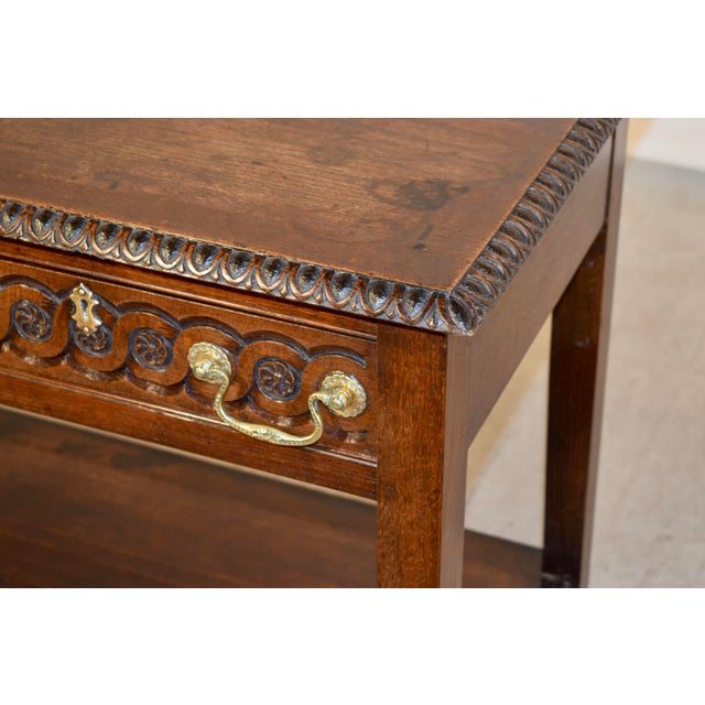Brown Early 19th Century English Console Table For Sale - Image 8 of 10