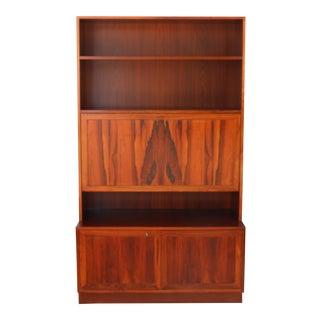 Danish Rosewood Desk Cabinet