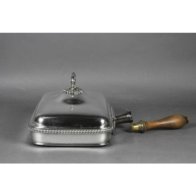 Regency Silver Plated Toasted Cheese Dish by Matthew Boulton - Image 3 of 10