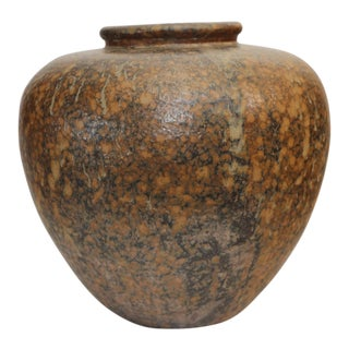 Large Art Pottery Vase by Hiroshi Nakayama & Judy Glasser For Sale