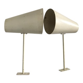 1950's French Modernist Wall Lamp - A Pair For Sale