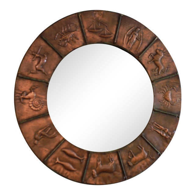 Astrology Relief Mirror For Sale