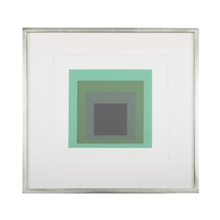 Josef Albers Homage to the Square From Formations: Articulation 1972. Silkscreen Prints, Folio II Folders 13. For Sale